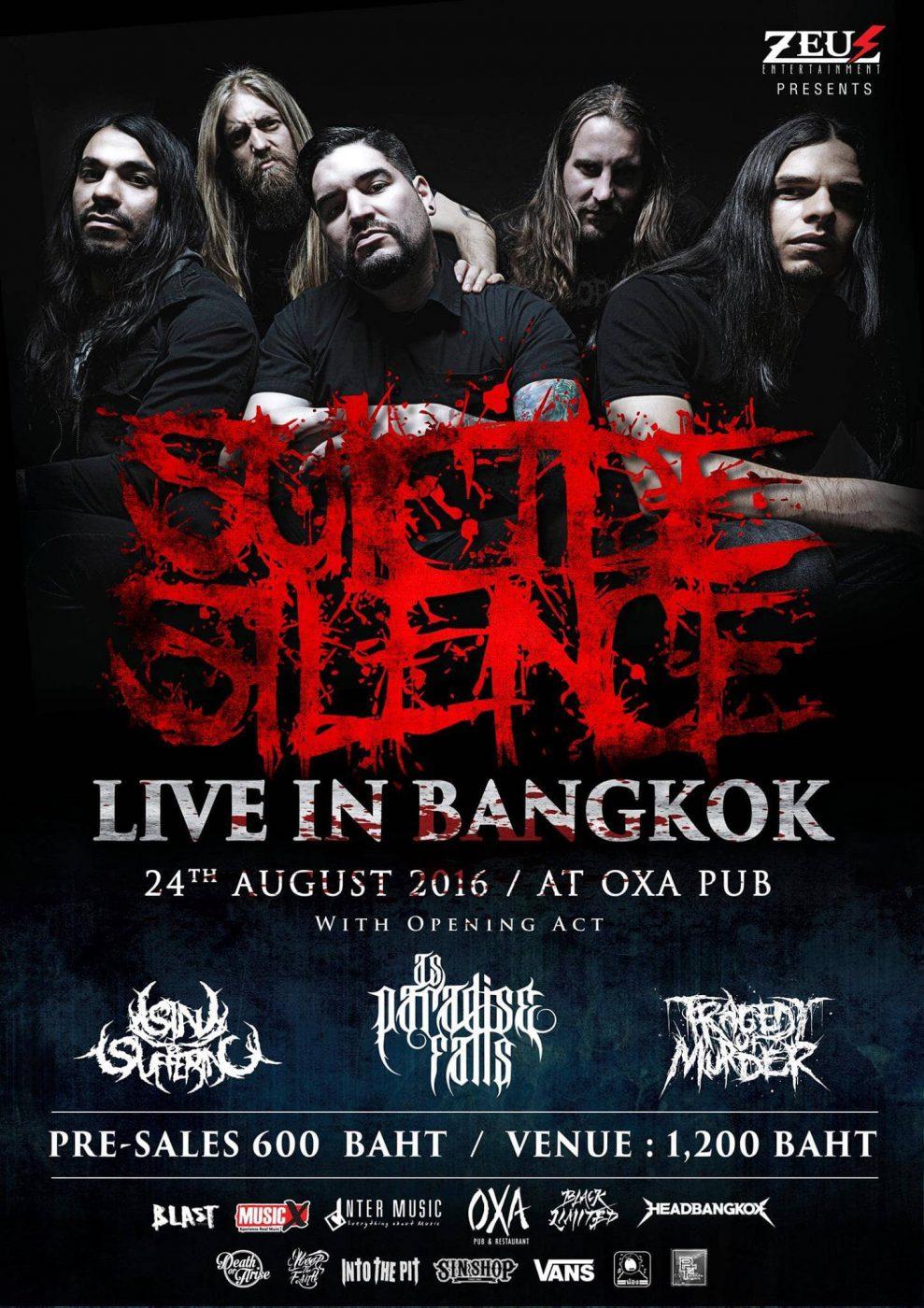 SUICIDE SILENCE BANGKOK