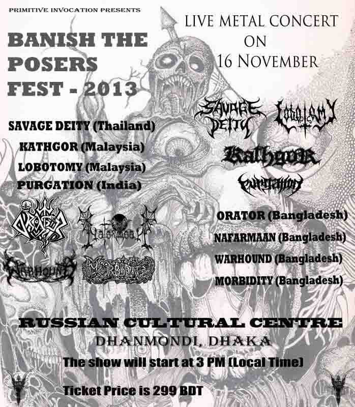 First edition of Banish The Posers Fest