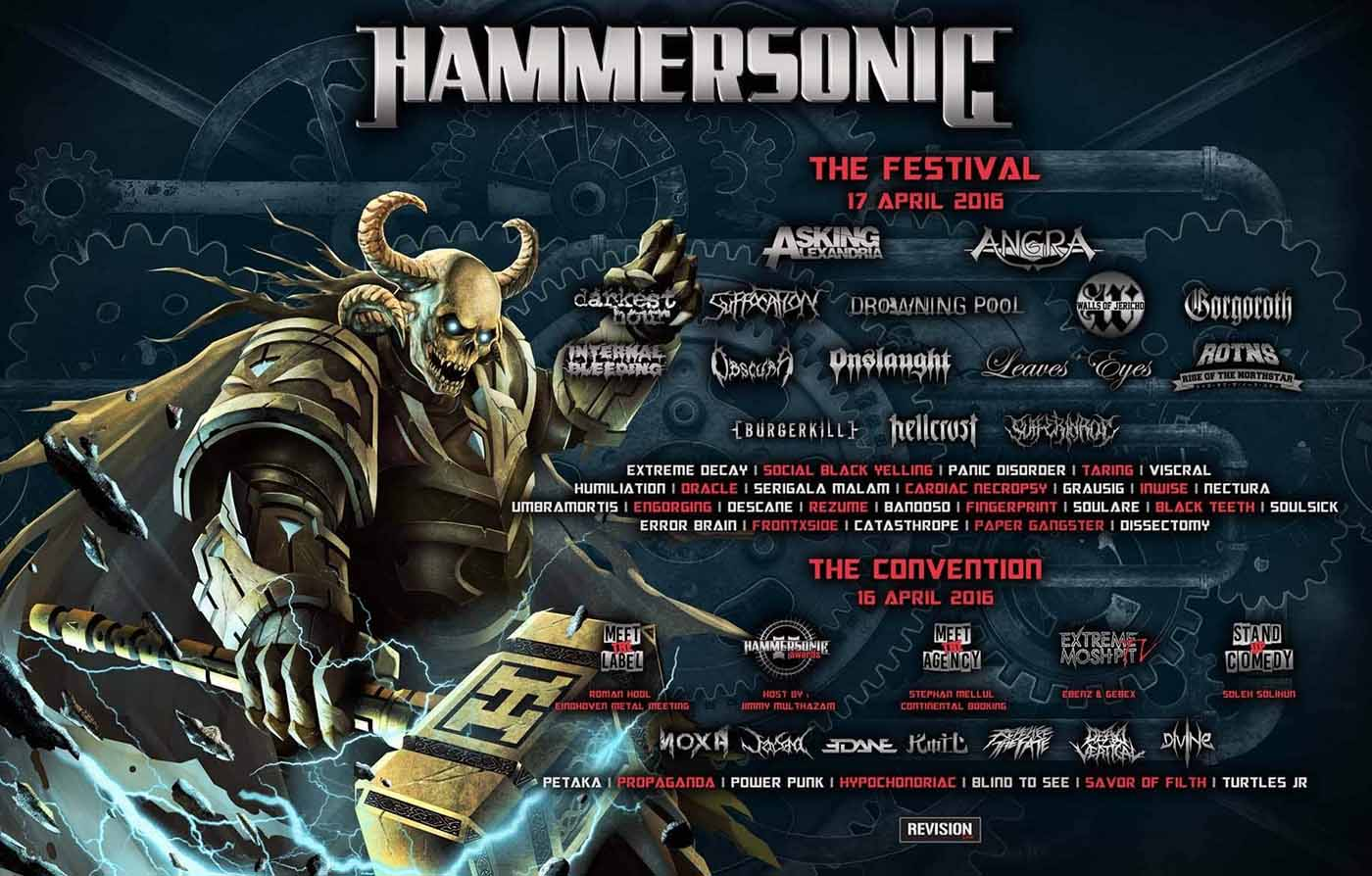 Hammersonic 2016 Rundown