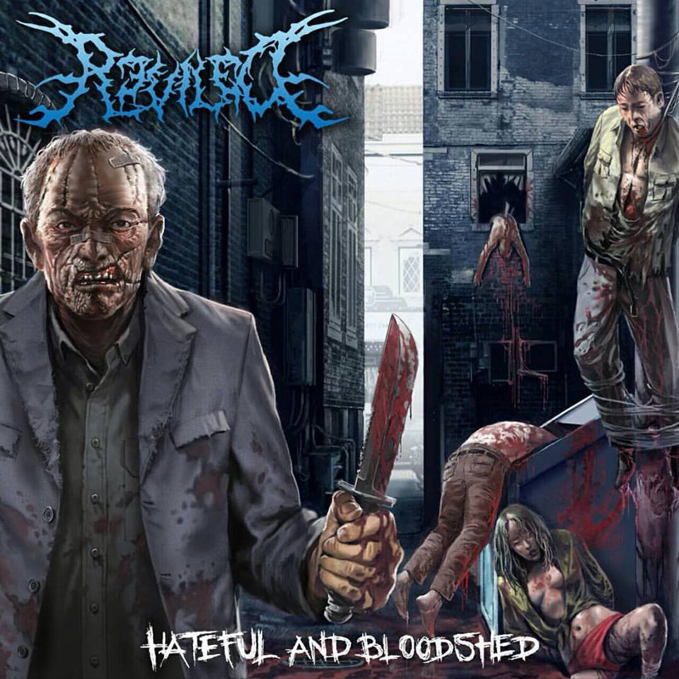 REVILED - HATEFUL AND BLOODSHED